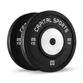 CAPITAL SPORTS Inval bumper versenytárcsák, 50 mm, alumínium mag, 2 x 25 kg