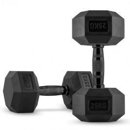 CAPITAL SPORTS Hexbell, egykezes súlyzópár, 2 x 25 kg