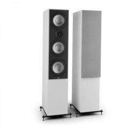 NUMAN Reference 801, háromutas álló hangfalpár, fehér, ezüst borító mellékelve