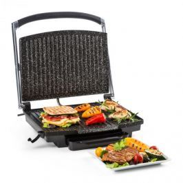 Klarstein Edelstein többfunkciós kontakt grill, panini grill, 2000 W, 240 ° C, fekete rozsdamentes acél