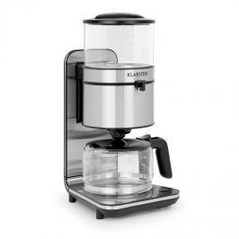 Klarstein Soulmate filteres kávéfőző, 1800 W, üveg, nemesacél, fekete