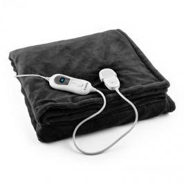 Klarstein Columbo XL melegítő takaró, 120 W, mosható, 180x130 cm, mikroplüss, fekete