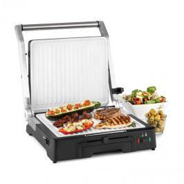 Klarstein Burgermeister 3 az 1-ben kontakt grill, asztali grill, panini grill, 2000 W