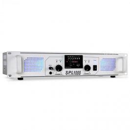 PA erősítő Skytec SPL-1000, USB, SD, MP3, 2800 W, fehér