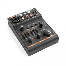 Power Dynamics PDM-D301BT, 3-csatornás keverőpult, USB keverőpult, bluetooth, fantom töltés