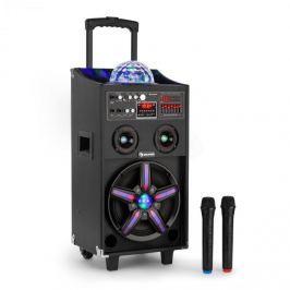 Auna Disgo Box 100, 100 W RMS, mobil DJ hangfal diszkó fénnyel, bluetooth, USB