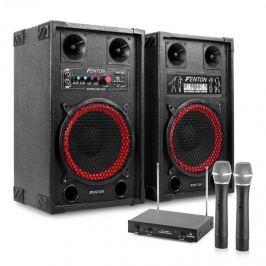 """Electronic-Star Karaoke szettek """"STAR-Neukölln"""",SPB-10 Aktív/Passzív 10"""" PA Hangfalak 600W"""
