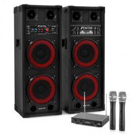 """Electronic-Star Karaoke szettek """"STAR-Köpenick"""" , SPB-28 PA Aktív/Passzív Dual 8"""" PA Hangfalak 8"""