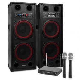 """Electronic-Star Karaoke szettek """"STAR-Schöneberg"""" , SPB-210 PA Aktív hangfalszett 2 x 25cm"""