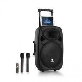 "Auna Streetstar 12 mobil PA berendezés, 12"", subwoofer, trolley BT USB/SD/MP3, FM, AUX"