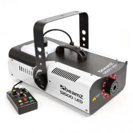 Beamz S1500LED füstgép + 9 RGB LED, 1500 W, 2,5 l tartály, DMX
