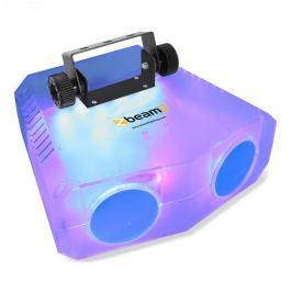 Beamz Nomia Clear dupla moonflower fényhatás, 114 RGBAW-LED, IR távirányító