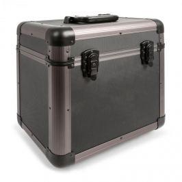 """Power Dynamics PRC100 12"""" titánium koffer gramofonlemezekre, vinyl case, 100 lemez"""