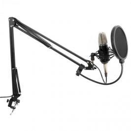 Vonyx Studio Set, mikrofon nagy membránnal, kar, pók, szélvédő, kábel