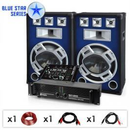"Electronic-Star Blue Star Series ""Beatmix"" DJ PA szett, 1600 W"