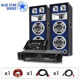 "Electronic-Star Blue Star Series ""Beatmix"" DJ PA szett, 1200 W"