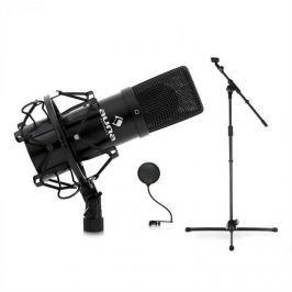 Auna Mikrofonállvány,USB kondenzátor mikrofon éspop filter