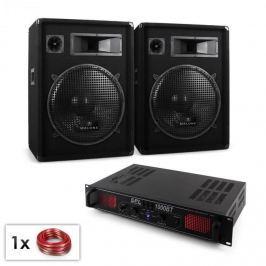 "Electronic-Star ""Malone Bluetooth SPL"" DJ PA szett, 2x hangfal 15"" (38cm), erősítő 1000W"