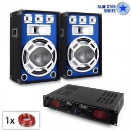 "Electronic-Star Blue Star Series ""Basscore Bluetooth"" PA szett, 1000W"