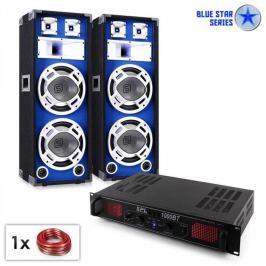 "Electronic-Star Blue Star Series ""Basssound Bluetooth"" PA szett, 1000W"