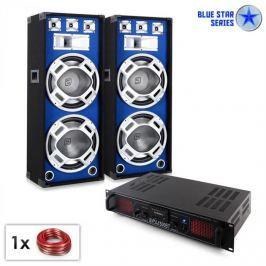 "Electronic-Star Blue Star Series ""Beatsound Bluetooth MP3"" PA szett, 1500W"