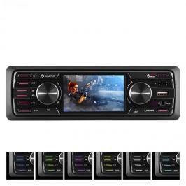 """Auna MD-350BT, autórádió, BT, USB, SD, MP3, CD lejátszó nélkül, 4 x 45 W, 3"""" LCD, AUX"""