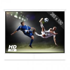 """FrontStage SLS-120 vetítővászon, 120"""", 265 x 150 cm, házimozi, HDTV kivetítő"""