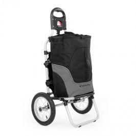 DURAMAXX Carry Grey, biciklis kocsi, kézikocsi, max. teherbírás 20 kg, fekete-szürke
