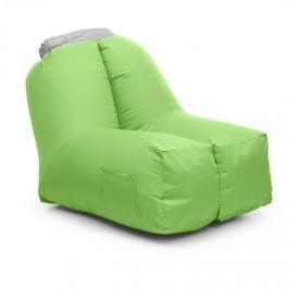 Blumfeldt AIRCHAIR, felfújható karosszék, 80x80x100 cm, hátizsák, mosható, poliészter, zöld