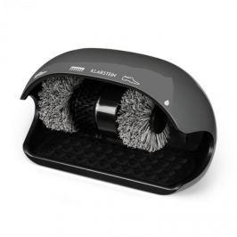 Klarstein ShoeButler cipőtisztítógép, 120 W, 3 kefe, szürke