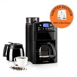 Klarstein Aromatica Set kávéfőző, daráló, üveg kancsó/termosz, fekete