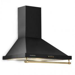 Klarstein Montblanc, páraelszívó, 610 m³/h, 165 W, 2x1,5 W LED, akasztó rúd, fekete