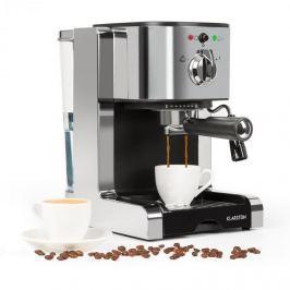 Klarstein Passionata 20 eszpresszó kávéfőző, 20 bar, kapucsínó, tejhab, ezüst színű