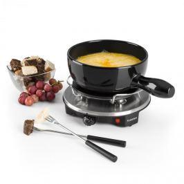 Klarstein Sirloin Raclette fondue-vel, kerámia edény, 1200W, fekete