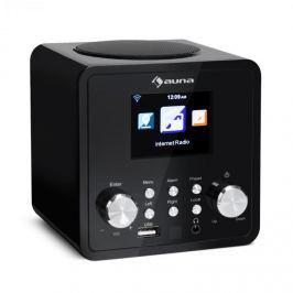 Auna IR-120 internet rádió, WiFi, DNLA, UPnP, app-control, fekete