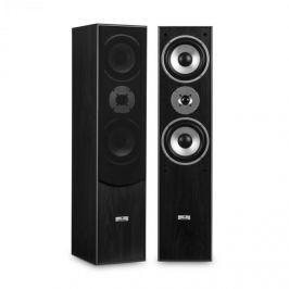 Auna L766 3-utas bassreflex HiFi hangfal pár, fekete