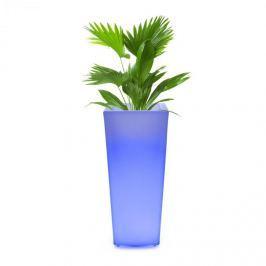 Blumfeldt Starflower LED kaspó, UV-stabil, polietilén, távirányító, szögletes