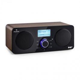Auna Worldwide Stereo internet rádió Spotify Connect App Control BT diófa