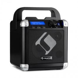 Auna BC-1 karaoke rendszer, bluetooth, akkumulátor, fogantyú, USB, AUX-IN, fekete