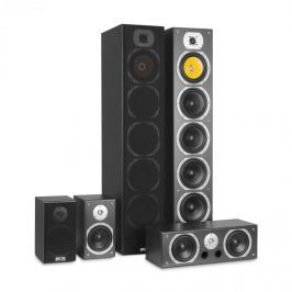 Auna V9B, surround hangfalak, 5 dobozos szett, 440 W RMS, fekete