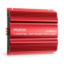 Auna C500.4 4-csatornás autó erősítő, 4x 65W RMS