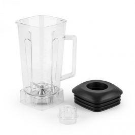Klarstein Herakles Jar keverő edény, műanyag, átlátszó, BPA-free, fekete