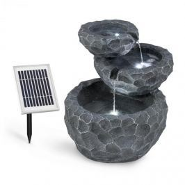 Blumfeldt Murach napelemes vízesés szökőkút, akkumulátor, 2 kW szolár panel, 3 LED