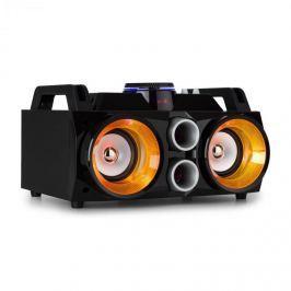 """Fenton MDJ100 médialejátszó, USB, SD, BT, AUX, 100W erősítő, 2x4"""" hangszóró"""