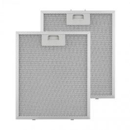 Klarstein zsírszűrő, pótszűrő, alumínium, 27,1 x 31,8 cm, 2 darab