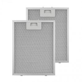 Klarstein zsírszűrő, pótszűrő, alumínium, 24,4 x 31,3 cm, 2 darab, tartozék