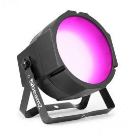 Beamz BS271F Flat Par, LED reflektor, 271x RGB 3in1 SMD LED, DMX vagy Standalone, LED kijelző