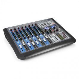 Power Dynamics PDM-S1204 12-csatornás keverőpult, DSP/MP3, USB port, BT vevő