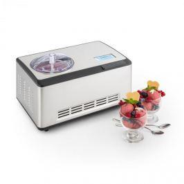Klarstein Dolce Bacio, fagylaltkészítő , kompresszor, 2 l, LCD kijelző, érintésvezérlés, nemesacél
