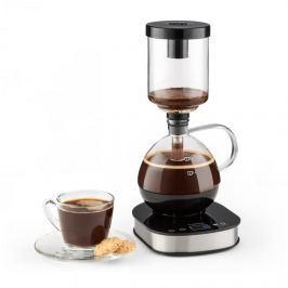 Klarstein Drop Coffee Maker, kávéfőző, 360° alap, LCD kijelző, 500 W, melegentartó funkció, üveg